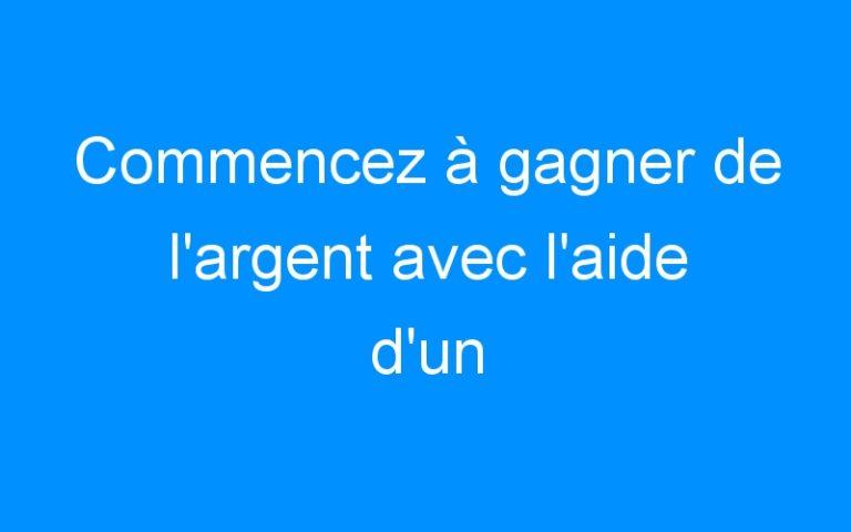 Commencez à gagner de l'argent avec l'aide d'un autorepondeur français gratuit